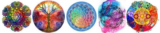 Mandalas de colores